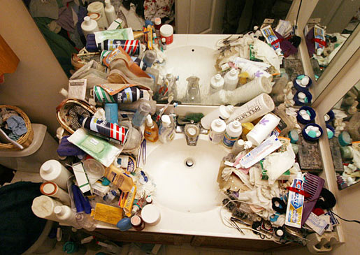 Clear Bathroom Clutter With Organizational Expert Justin