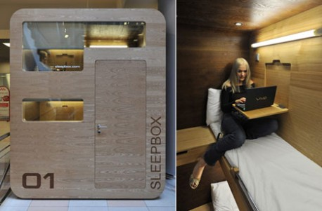 airport sleeping pods taking over the world lifeedited. Black Bedroom Furniture Sets. Home Design Ideas