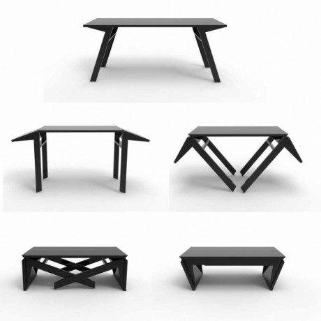 Coffee Table To Dining Table.Cristallo Expanding Coffee To Dining Table Best Coffee In The World