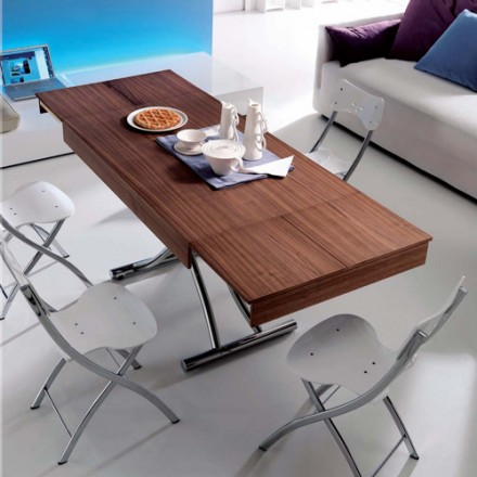 Resource Furniture Passo Table - Transforming Tables Handle Coffee And Dinner With Ease - LifeEdited