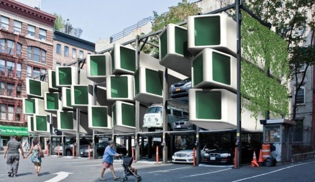 2 Housing Concepts Take Different Tacks For Concealing Cars In The