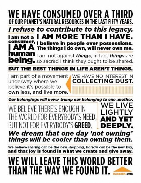 Unstash Manifesto Lifeedited