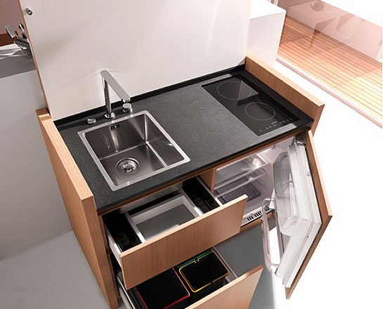 A small space kitchen that is not an eyesore lifeedited - Kitchenettes for small spaces image ...