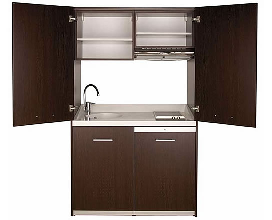 mini kitchen cabinet a small space kitchen that is not an eyesore lifeedited 4132