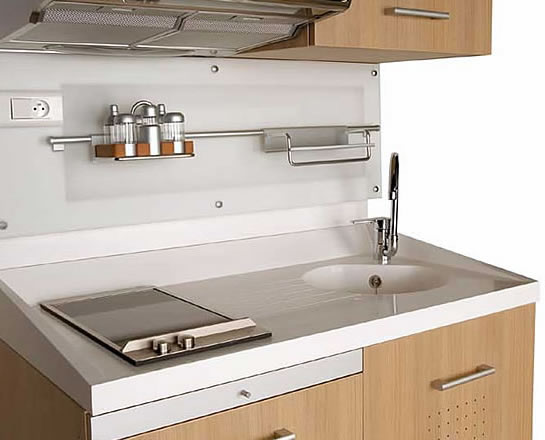A small space kitchen that is not an eyesore lifeedited - Modular kitchen for small space set ...