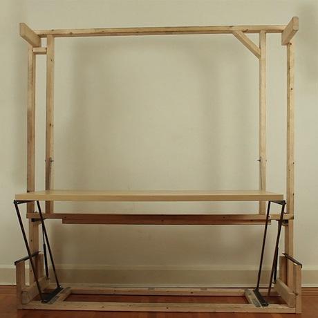 Diy Murphy Bed Desk 2