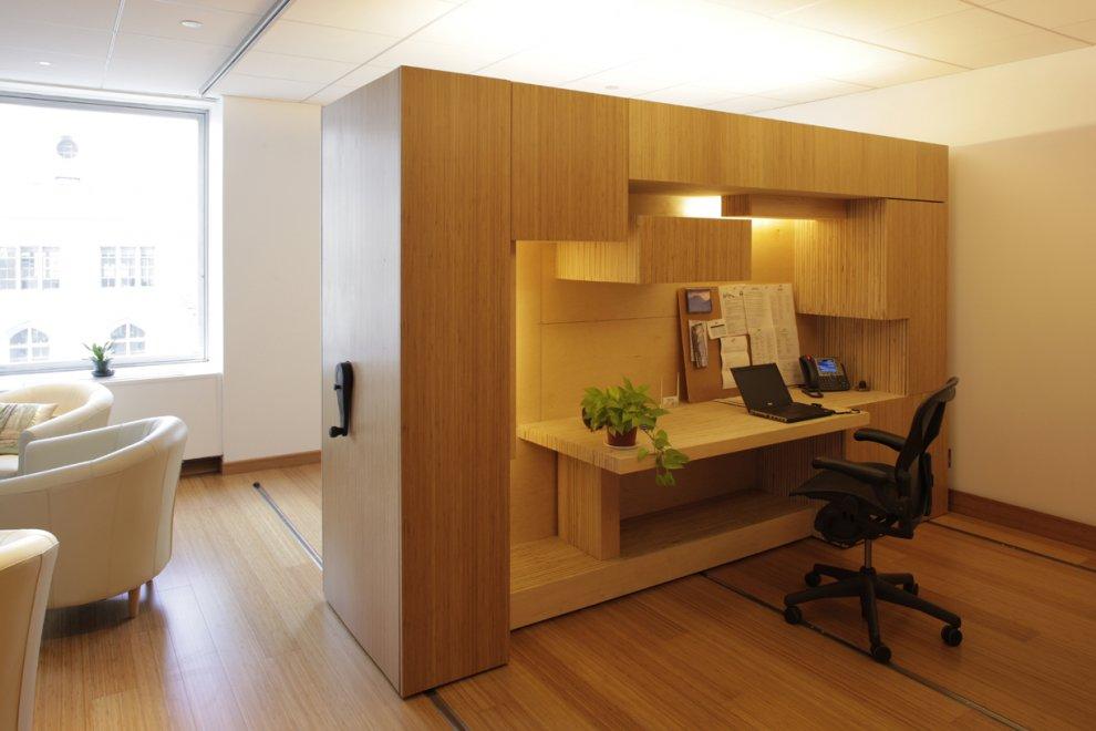 Tetris Like Office Creates Space Grants