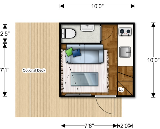 The world changing ten foot cube lifeedited Cube house plans