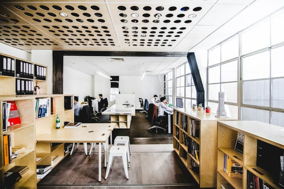 3 adaptable, transforming office spaces - lifeedited Small Office Space