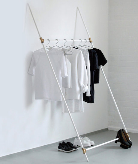 Diy Modern Furniture Leaning Rack