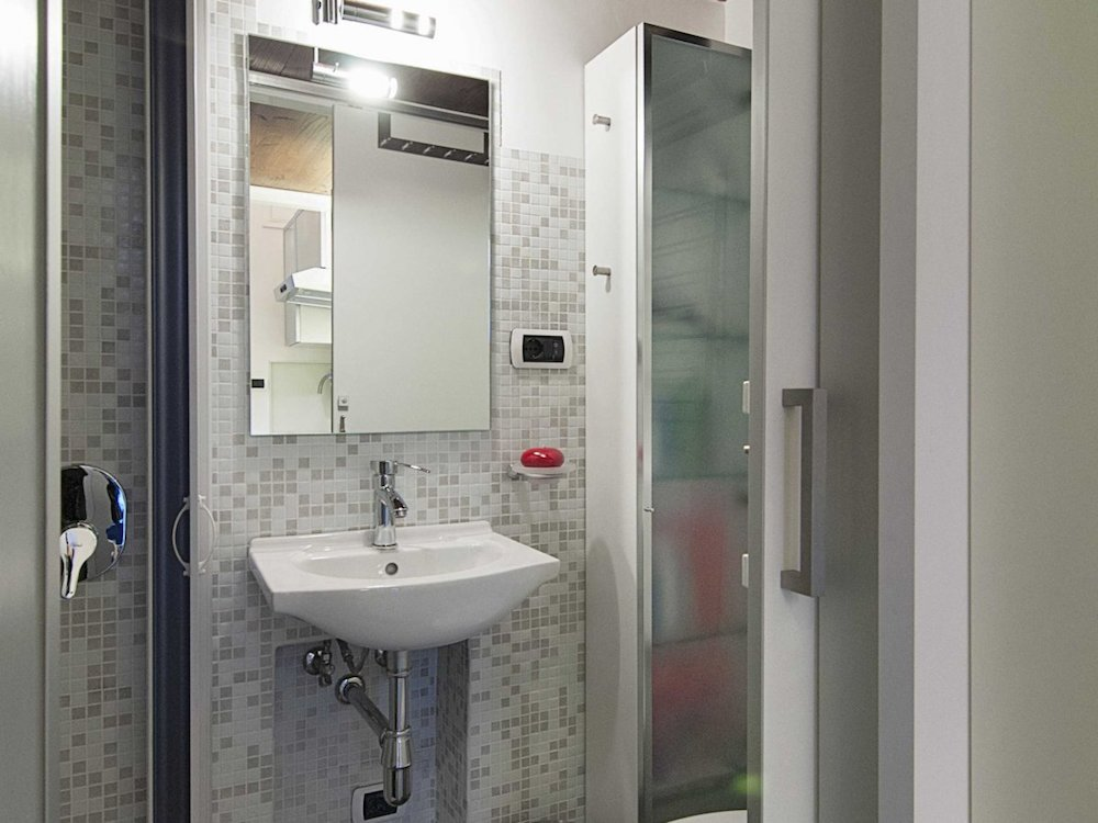Italian Micro Loft Bathroom