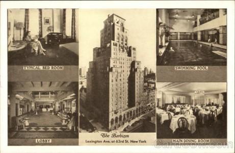 The Barbizon Hotel New York