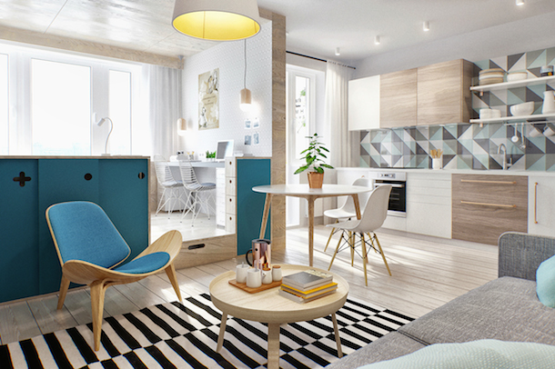 Compact, Colorful, Russian Flat