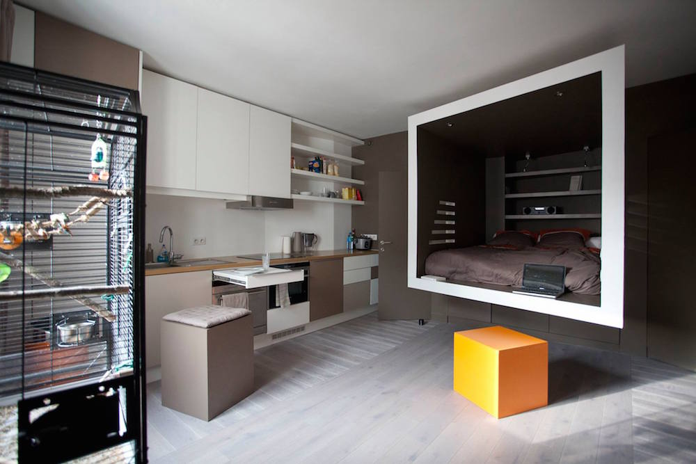 Awesome French Micro Apartment is Awesome - LifeEdited