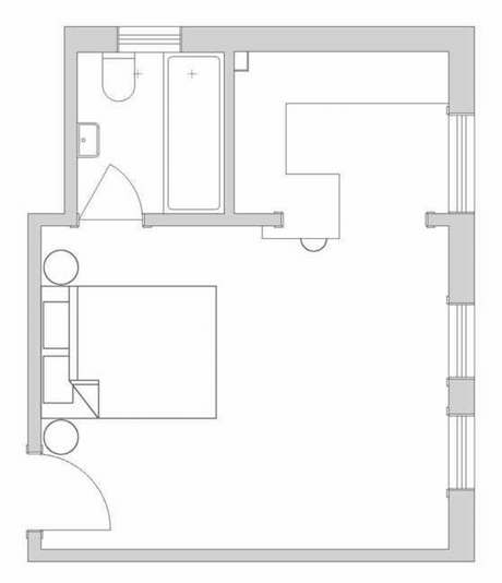 Darlinghurst Apartment Original Floorplan