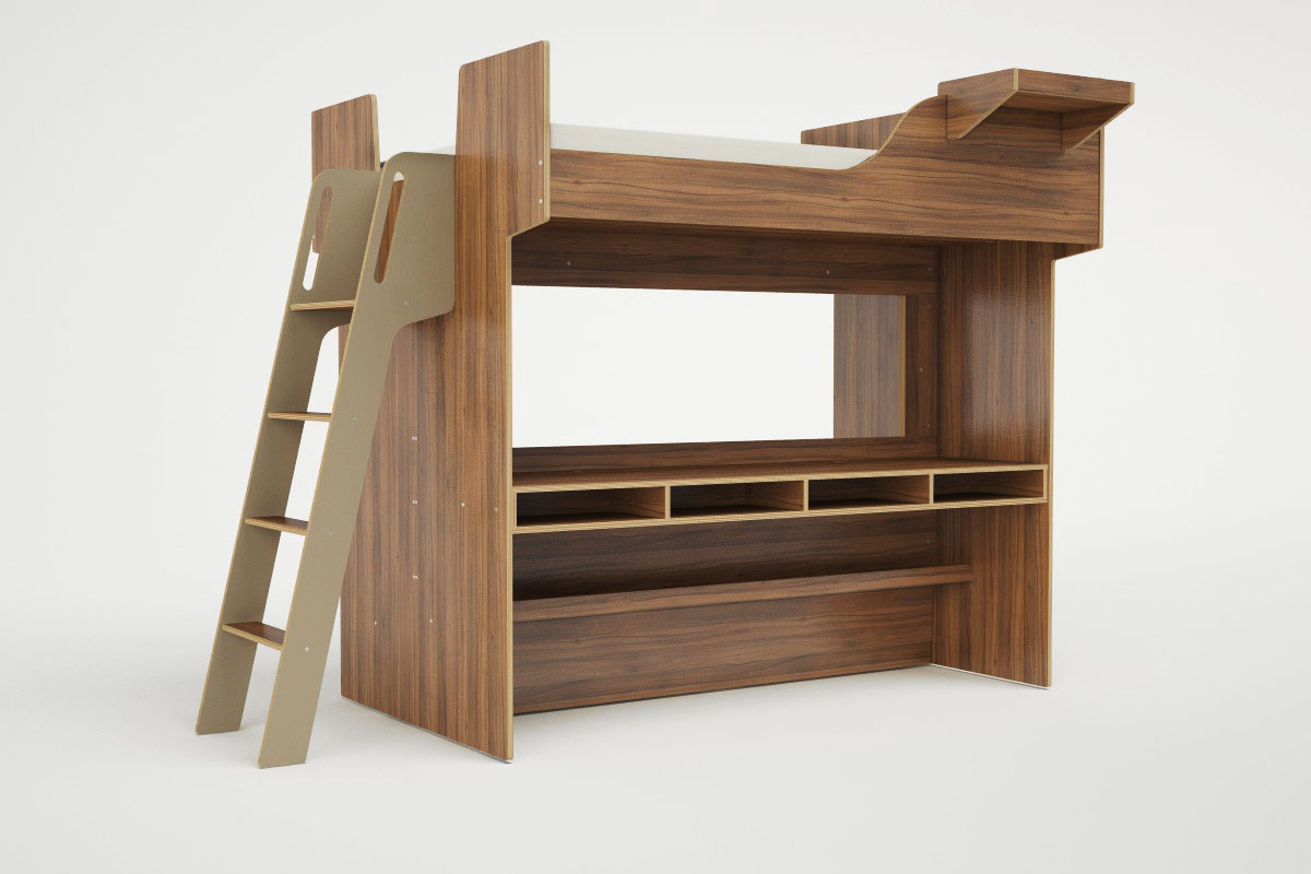 Loft beds grow up lifeedited - Outs kleine ruimte ...