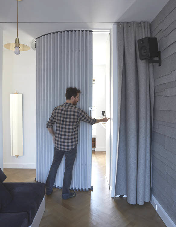 Hufcor Accordion Wall Instant Visual And Acoustic Privacy Lifeedited