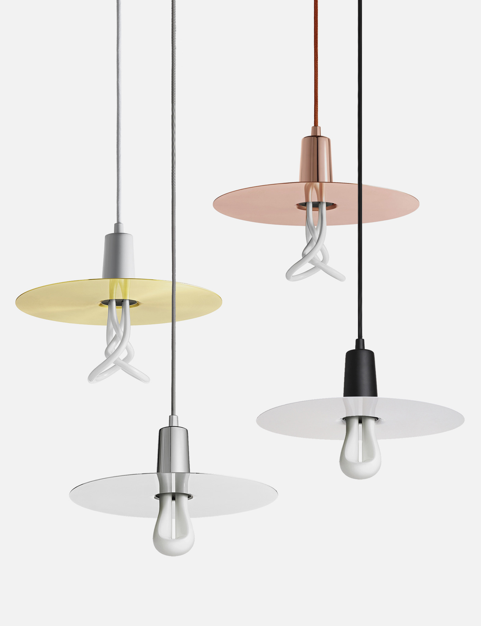 we love our plumen drop hat pendant shades with warm dimmable led bulbs lifeedited. Black Bedroom Furniture Sets. Home Design Ideas